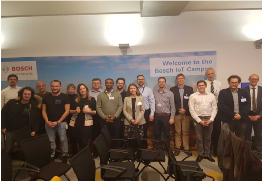 Attendees of the workshop at the Bosch IoT Campus in Berlin